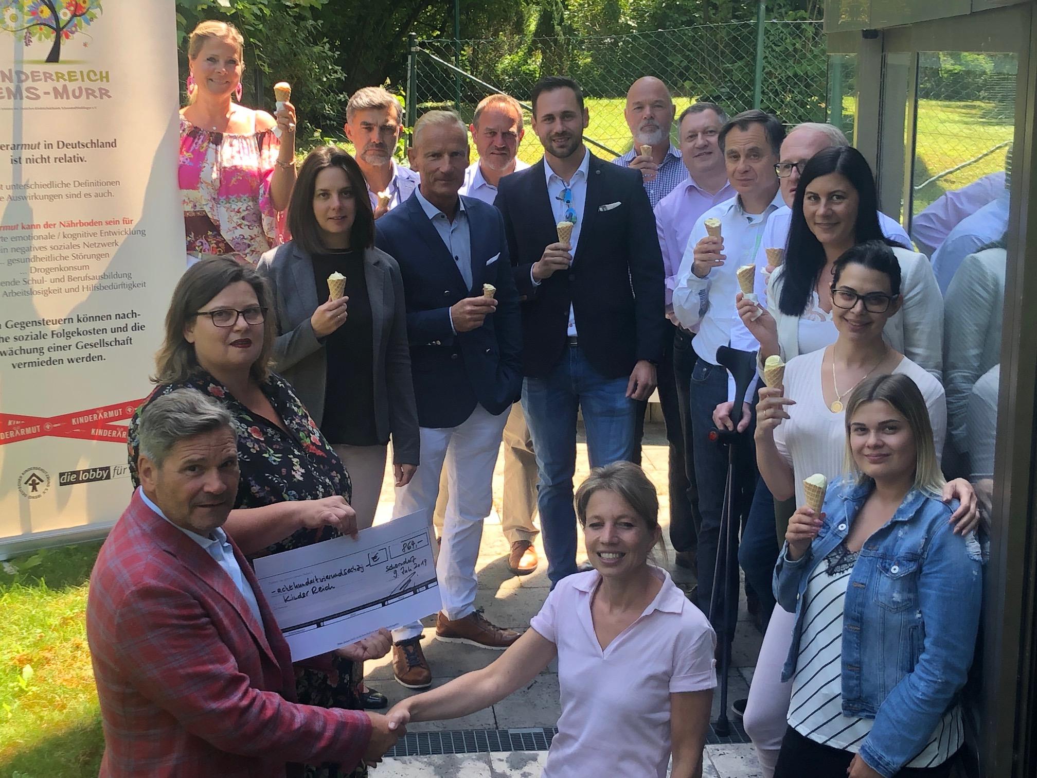 Gerald Feig Kinderreich Rems-Murr Chrarity Aktion von Flex Fonds